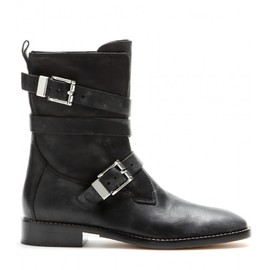 ALEXANDER WANG - Louise leather biker boots