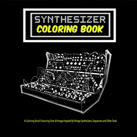 The Content Label - Synthesizer: Coloring Book