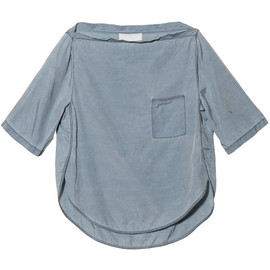 3.1 Phillip Lim - Curved Seam Tee in Pale Blue