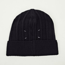 Maison Martin Margiela - 14 Men's Navy Blue Knitted Hat