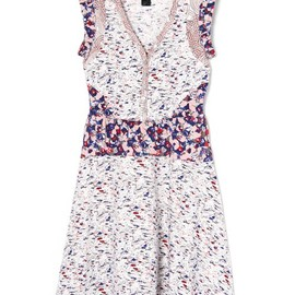 MARC BY MARC JACOBS - MOKUME FLORAL JERSEY (DRESS)