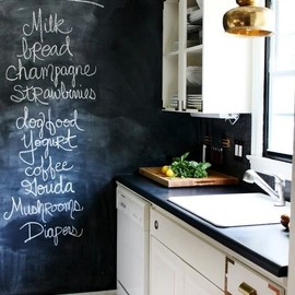 Kitchen/ black board