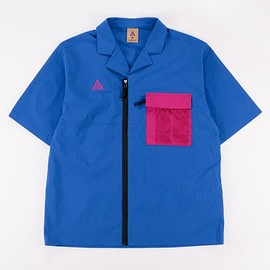 NIKE, Nike ACG - ACG SS Top - Game Royal/Sport Fuchsia