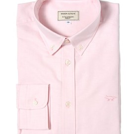 MAISON KITSUNE - CLASSIC BDSHIRT SOLID embroidery