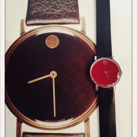 """Nathan George Horwitt - MOVADO """"Museum Watch"""" 1960's Deadstock"""
