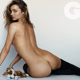 Miranda Kerr - What a woman: Miranda Kerr stripped naked and posed for a Mario Testino shoot, for GQ magazine