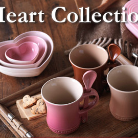 Le Creuset - Sweet Heart Collection