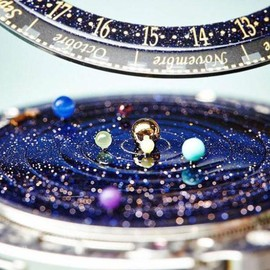 Van Cleef & Arpels - Complication Poetique Midnight Planetarium Watch | aBlogtoWatch