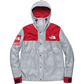 Supreme × The North Face - The North Face®/Supreme Reflective 3M® Mountain Parka