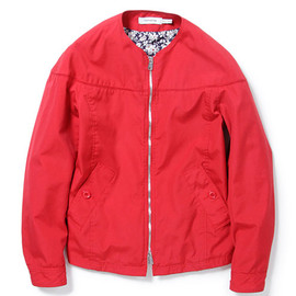 nonnative - LABORER BLOUSON - C/P WEATHER CLOTH (RED)
