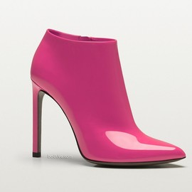 Gucci - patent leather high heel bootie