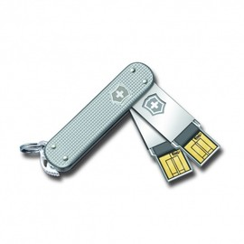 Swiss Army Soldier Pocket Knife (Silver Alox)