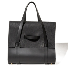 Buscemi - Leather Weekender Bag - Black