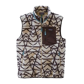 patagonia - Retro-X Vest / Pine Stamp Big: Natural