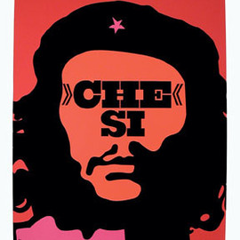 """Opus Magazine - """"Che Si"""" Poster Designed by Roman Cieslewicz, 1968"""