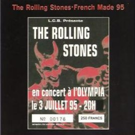 The Rolling Stones - French Made 95