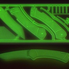 Klecker Knives - Glow in the Dark Knife Kit
