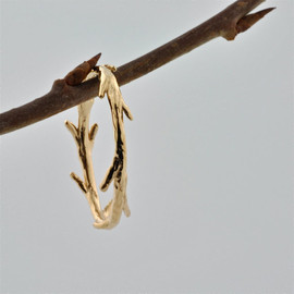 colbyjune - Gold Vermeil Twig Ring