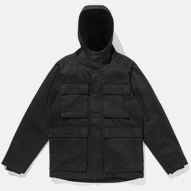 Saturdays Surf NYC - Hooded M-65 Jacket, Black