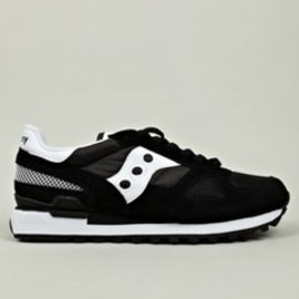 SAUCONY - Men's Black Shadow Original Sneakers