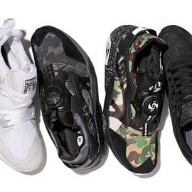 PUMA - A BATHING APE × PUMA COLLABORATION COLLECTION