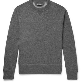 TOM FORD - Cashmere and Cotton-Blend Sweatshirt