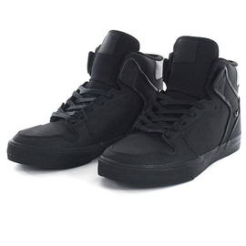 SUPRA - VAIDER  BLACK GUNNY TUF BLACK SOLE