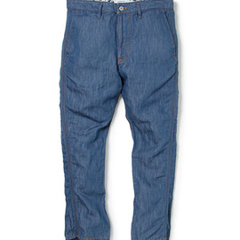 nonnative - LABORER BOOT CUT PANTS - C/L 7oz DENIM