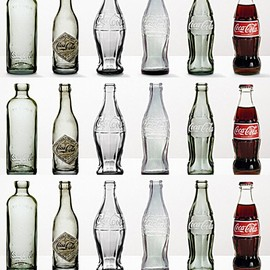 Coca-Cola - coke bottles through the years