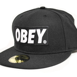 OBEY - obey-x-new-era「classic-material」59fifty-fitted-cap