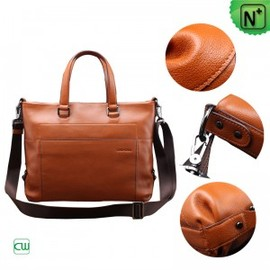 CWMALLS - Brown Leather Business Briefcase CW901579 - m.cwmalls.com