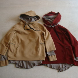 SUN SEA - BROKEN3WAY HOOD PARKA