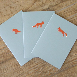 Little Alexander - Fox Notebooks - Set of 3 Cahiers