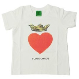 UNDERCOVER - UNDERCOVER KIDS / I LOVE CHAOS Tシャツ