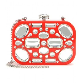miu miu - Crystal-embellished clutch