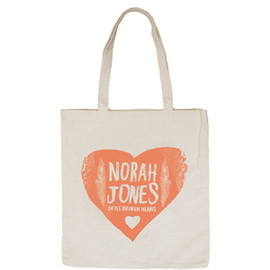 Norah Jones - 「LITTLE BROKEN HEARTS JAPAN TOUR 2012」tote
