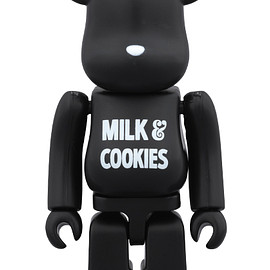 MEDICOM TOY - BE@RBRICK NUMBER (N)INE MILK & COOKIES