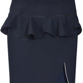 Nine - Detachable Peplum Zip Skirt