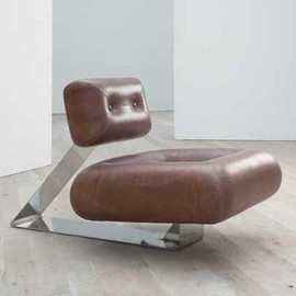 Oscar Niemeyer - Rare 'Aran' lounge chair