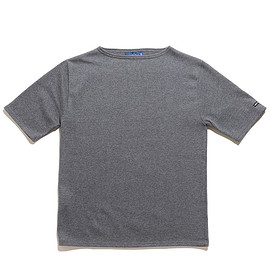 SAINT JAMES - Ouessant Light Short Sleeve-Acier