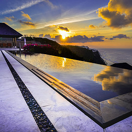 Bali, Indonesia - The edge