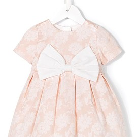 Hucklebones London - blossom jacquard dress with bloomers