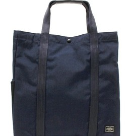 MONOCLE×PORTER (Navy) - Tote Bag