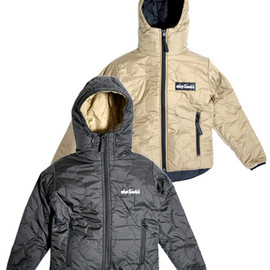 Wild Things - HOODED PRIMALOFT JACKET BLACK/TAN