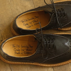 Quilp (The Old Curiosity Shop x Quilp by Tricker's) - M7457 Two Tone Derby Brogue (MAPS 2011F/W Special Edition)