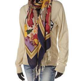 Rodeo Crowns - 【RodeoCrowns】□FLOWER PRINT STOLE