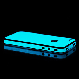 IGlowPhone - Blue Glow iPhone 5 Skin