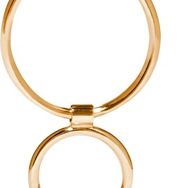 Sarah & Sebastian - Two Bubble 14-karat gold earring
