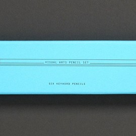 THE SCHOOL OF LIFE - KEY WORD PENCIL SET: THE VISUAL ARTS