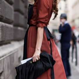 2014 Paris Fashion Week street style [Photo by Kuba Dabrowski]